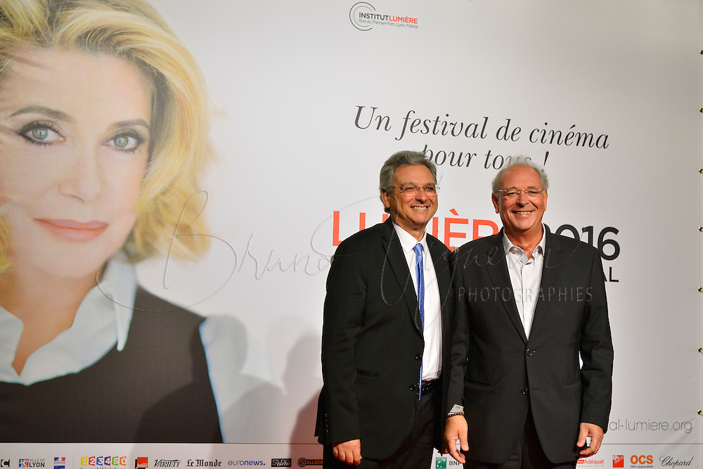 Victor (G) &amp; Samuel (D) Hadida<br /> Lyon 8 oct 2016 - Festival Lumi&egrave;re 2016 - C&eacute;r&eacute;monie d&rsquo;Ouverture<br /> 8th Film Festival Lumiere In Lyon : Opening Ceremony