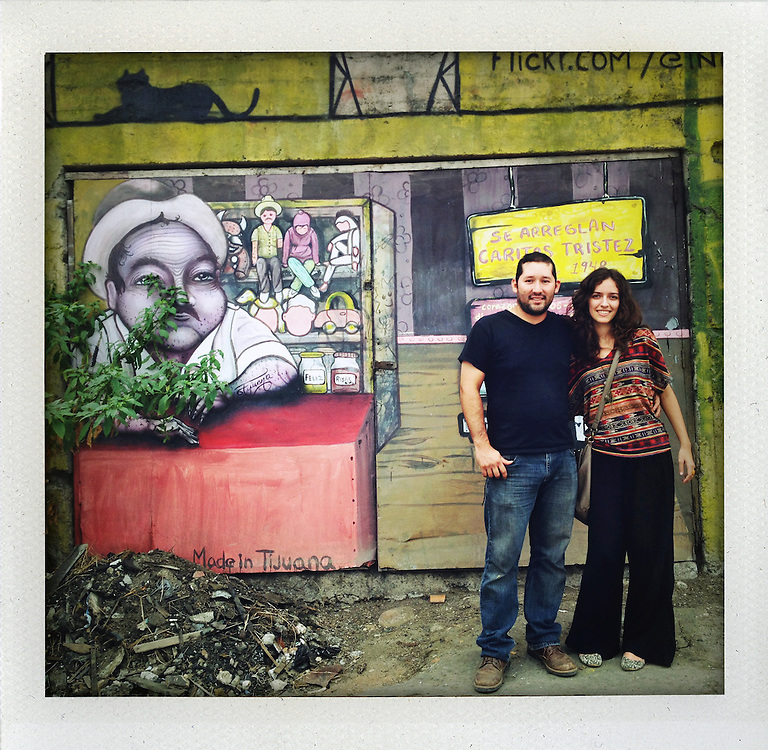 A great day with the great artist Alonso Delgadillo and his girlfriend Corinna Robles all over Tijuana :-)<br /> <br /> &copy; Stefan Falke<br /> www.stefanfalke.com