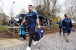 Gareth Milasinovich and the rest of the Worcester Warriors team arrive at Allianz Park - Mandatory byline: Patrick Khachfe/JMP - 07966 386802 - 29/12/2018 - RUGBY UNION - Allianz Park - London, England - Saracens v Worcester Warriors - Gallagher Premiership Rugby