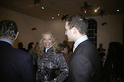 Princess Michael of Kent and Lord Frederick Windsor, Misadventure In the Middle East. Travels As a Tramp, Artist and Spy by Henry Hemming. Book launch and exhibition. Paradise Row. London. E2.  -DO NOT ARCHIVE-© Copyright Photograph by Dafydd Jones. 248 Clapham Rd. London SW9 0PZ. Tel 0207 820 0771. www.dafjones.com.