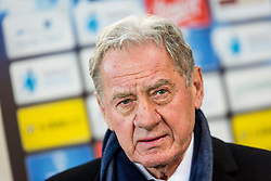 Milan Mandaric during football match between NK Olimpija Ljubljana and NK Maribor in Round #25 of Prva Liga Telekom Slovenije 2017/18, on March 31, 2018 in SRC Stozice, Ljubljana, Slovenia. Photo by Ziga Zupan / Sportida