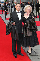 LONDON - APRIL 15:  Michael Brandon; Sandra Dickinson attend The Olivier Awards 2012 at the Royal Opera House, Covent Garden, London, UK. April 15, 2012. (Photo by Richard Goldschmidt)