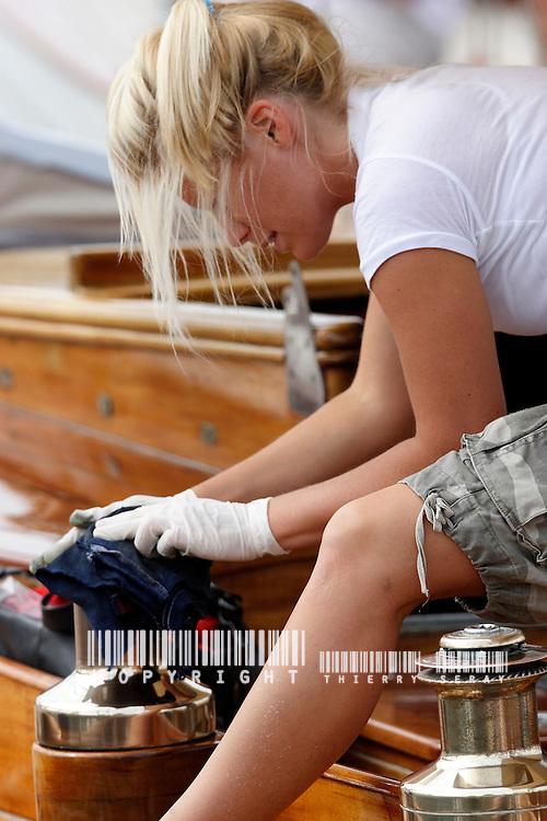 Keep the spirit clean.Voiles d'Antibes 2007.