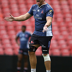Andries Ferreira of the Emirates Lions during the Emirates Lions Captain Run at the Emirates Airlines Park, South Africa. 23 February 2018 (Photo by Steve Haag/UAR)