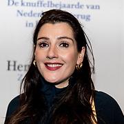 NLD/Amsterdam/20191211 - Hendrik Groen-voorstelling in premiere, Tina de Bruin
