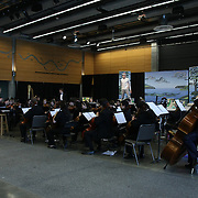 "Seattle Opera's Earth Day performance of ""Rushing Upriver"" featuring Seattle Youth Symphony, Seattle Opera soloists and Youth Chorus."