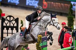FLÜCKEN Gerrit (GER), California's Sister<br /> Leipzig - Partner Pferd 2019<br /> Finale SPOOKS-Amateur Trophy<br /> Medium Tour<br /> 20. Januar 2019<br /> © www.sportfotos-lafrentz.de/Stefan Lafrentz
