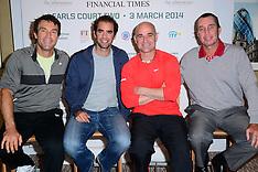 MAR 03 2014 World Tennis Day Showdown press conference