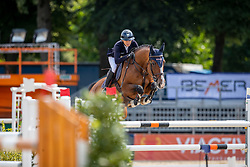 KLAPHAKE Laura (GER), CAMALITA<br /> Münster - Turnier der Sieger 2019<br /> Preis des EINRICHTUNGSHAUS OSTERMANN, WITTEN<br /> CSI4* - Int. Jumping competition  (1.45 m) - <br /> 1. Qualifikation Mittlere Tour<br /> Medium Tour<br /> 02. August 2019<br /> © www.sportfotos-lafrentz.de/Stefan Lafrentz