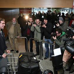 20080410: Ice Hockey - Anze Kopitar arrived home