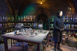 © Licensed to London News Pictures 27/02/2011 London, UK. .Professor Snapes potions room inside The Warner Brothers Studio Tour, Leavesden, Herts where all 8 Harry Potter movies were made and opens to the public this week..Photo credit : Simon Jacobs/LNP