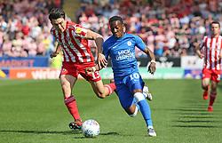 Siriki Dembele of Peterborough United in action with Luke O'Nien of Sunderland - Mandatory by-line: Joe Dent/JMP - 22/04/2019 - FOOTBALL - ABAX Stadium - Peterborough, England - Peterborough United v Sunderland - Sky Bet League One