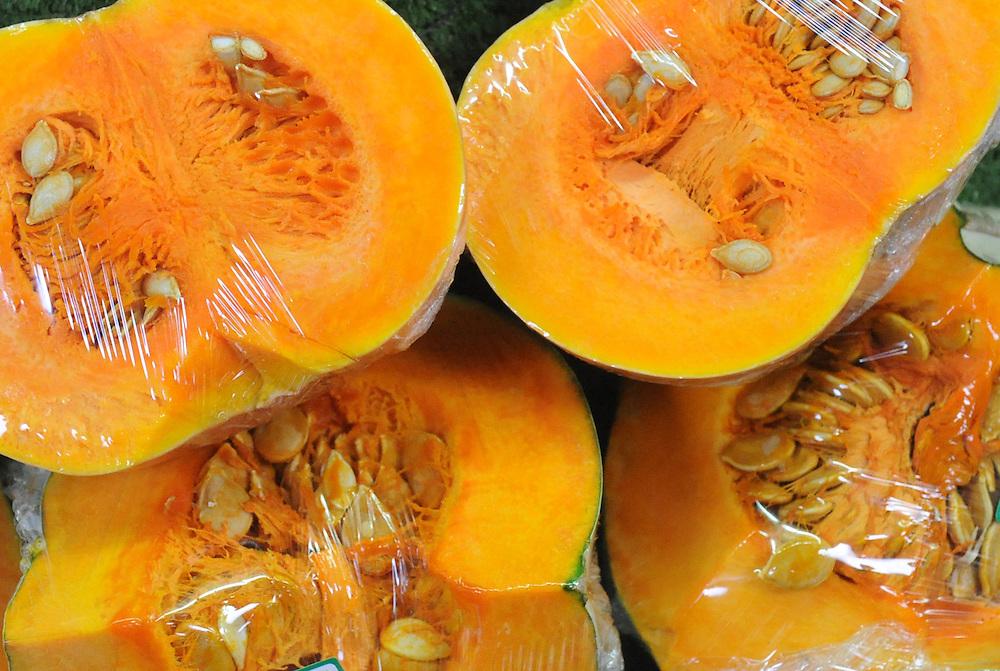 Pumpkins, vegetables, Dannevirke, New Zealand, Thursday, September 18, 2014. Credit:SNPA / Ross Setford