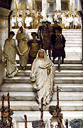 Sir Lawrence Alma-Tadema  'The Triumph of Titus' oil on panel (Emperor Titus returned to Rome triumphantly following his capture of Jerusalem in AD 70
