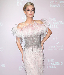 September 14, 2018 - New York City, New York, USA - 9/13/18.Paris Hilton at Rihanna''s 4th Annual Diamond Ball held at Cipriani Wall Street in New York City..(NYC) (Credit Image: © Starmax/Newscom via ZUMA Press)