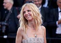 Sandrine Kiberlain at the opening ceremony and Ismael's Ghosts (Les Fantômes D'ismaël) gala screening,  at the 70th Cannes Film Festival Wednesday May 17th 2017, Cannes, France. Photo credit: Doreen Kennedy