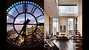 Left: Clocktower Penhouse, DUMBO Brooklyn. TwoTrees, developer<br /> RIght: Penthouse at 95 Greene Street