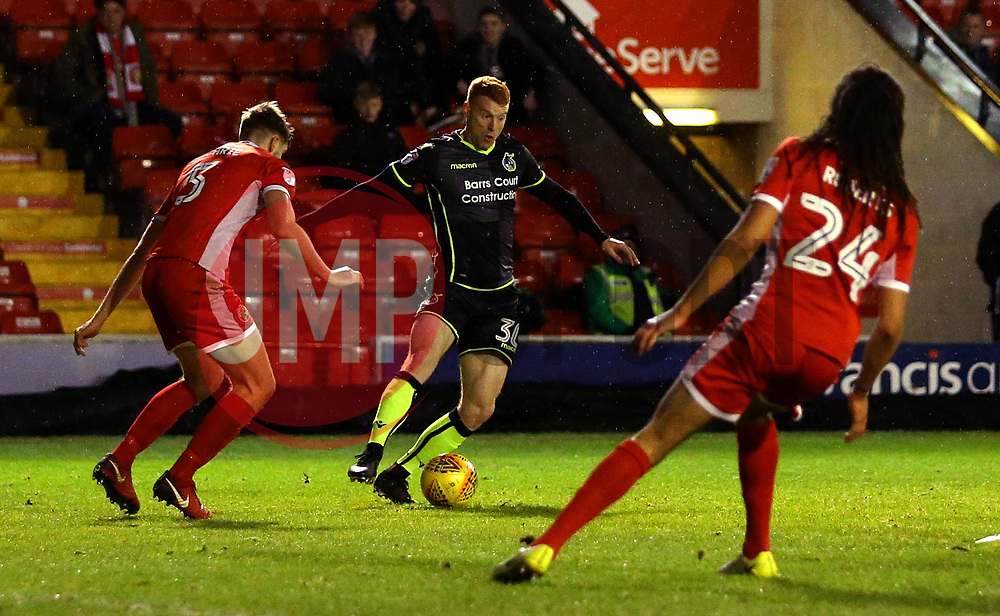 Rory Gaffney of Bristol Rovers - Mandatory by-line: Robbie Stephenson/JMP - 26/12/2017 - FOOTBALL - Banks's Stadium - Walsall, England - Walsall v Bristol Rovers - Sky Bet League One