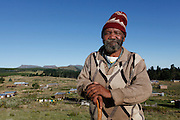 Rev Wilton Mafika is the last living member of a Residents Association formed in 1993.<br /> <br /> During Apartheid the workers in the mountain retreat town of Hogsback were not allowed to own their own property. They had to reside on their employer&rsquo;s properties or commute from the Ciskei homeland in the valley below.<br /> <br /> Since the early 1990&rsquo;s the workers in Hogsback have been trying to get the go ahead for a low cost housing development but continue to face delays and legal challenges. The Legal Resources Centre is representing the Hogsback workers in negotiations to find a suitable site for the low cost housing development.<br /> <br /> &copy;Zute &amp; Demelza Lightfoot / Legal Resources Centre