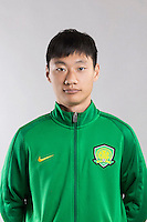 Portrait of Chinese soccer player Tang Shi of Beijing Sinobo Guoan F.C. for the 2017 Chinese Football Association Super League, in Benahavis, Marbella, Spain, 18 February 2017.