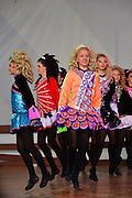 Photo of group of girls dancing at the Dublin Irish Festival in Dublin, Ohio.