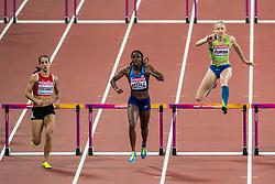 06-08-2017 IAAF World Championships Athletics day 4, London<br /> Shamier Little USA, Agata Zupin SLO - 400m hurdle