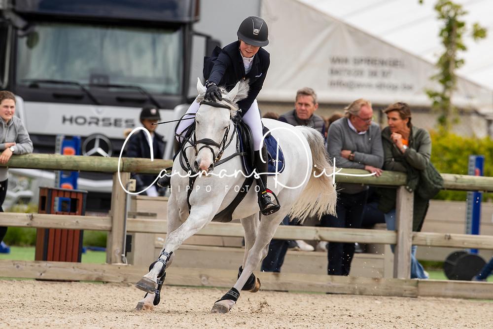 Ameeuw Louise, BEL, Lover Boy Z<br /> Belgisch kampioenschap Young Riders - Azelhof - Lier 2019<br /> © Dirk Caremans<br /> 30/05/2019