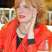 NLD/Amsterdam/20120310 - Feest der Letteren 2012 , Mieke van der Weij