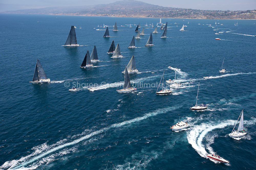 2013 Transpac Yacht Race, 3rd Start, July 13, 2013, Division 1-3