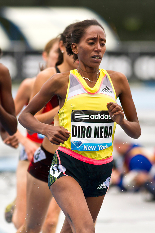adidas Grand Prix Diamond League professional track & field meet: womens 3000 meter steeplechase, Etenesh DIRO NEDA, Ethiopia