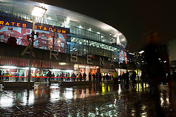 - Photo mandatory by-line: Dougie Allward/JMP - Mobile: 07966 386802 - 04/11/2014 - SPORT - Football - London - Emirates Stadium - Arsenal v RSC Anderlecht - Champions League - Group D