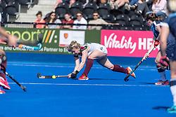 Clifton Robinsons v Surbiton - Investec Women's T1 Final, Lee Valley Hockey & Tennis Centre, London, UK on 05 May 2018. Photo: Simon Parker