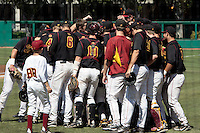 28 March 2009:  of the USC Trojans Baseball team during a 10-1 loss to Arizona State Sun Devils at Dedeaux Field in Los Angeles.