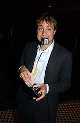 BEN GOLDSMITH at The Christmas Cracker - an evening i aid of the Starlight Children's Charity held at Frankies, Knightsbridge on 13th December 2006.<br />