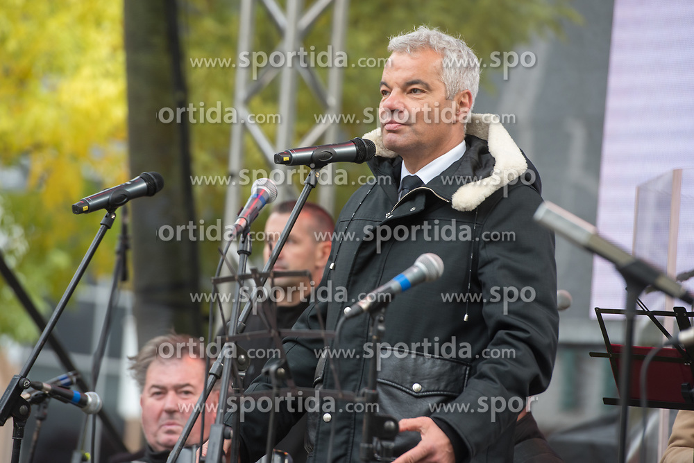 Sasa Arsenovic, mayor of Maribor, during martinovanje, St. Martin's Day Celebration on November 11, 2019 in Maribor, Slovenia. Photo by Milos Vujinovic / Sportida
