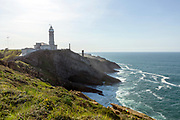 SANTANDER, SPAIN - April 17 2018 Cabo Mayor Lighthouse, Santander, Spain, Europe.