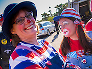 "11 NOVEMBER 2013 - PHOENIX, AZ: Clowns at the Veterans Day Parade in Phoenix. The Phoenix Veterans Day Parade is one of the largest in the United States. Thousands of people line the 3.5 mile parade route and more than 85 units participate in the parade. The theme of this year's parade is ""saluting America's veterans.""     PHOTO BY JACK KURTZ"