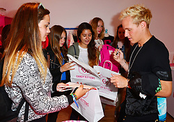 Jamie Laing attends the opening of his latest pop up shop for sweets brand Candy Kittens in London, Monday, 5th August 2012 .Photo by Nils Jorgensen /  i-Images