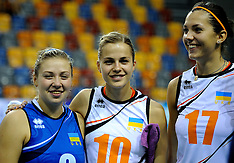 20120909 NED: EK Kwalificatie vrouwen Denemarken - Oekraïne, Apeldoorn