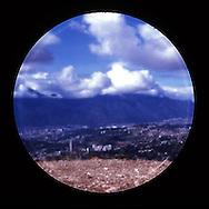 Image made with film pinhole camera..