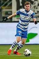 DEN HAAG - ADO Den Haag - PEC Zwolle , Voetbal , Eredivisie , Seizoen 2016/2017 , Kyocera Stadion , 21-01-2017 , PEC Zwolle speler Django Warmerdam