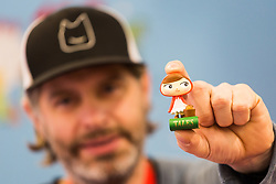 Little figurines and miniature toys are proving popular at the Toy Fair at Kensington Olympia in London, the UK's largest dedicated game and hobby exhibition featuring the hottest and most anticipated products for the year ahead. London, January 22 2019.