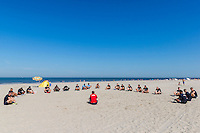BERGEN - 03-08-2015, strandtraining AZ, strand,