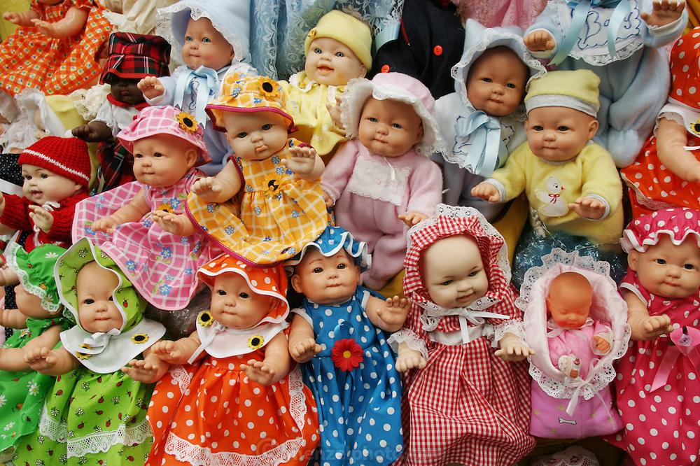 Baby dolls, Cuernavaca, Morelos,  Mexico.