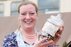 Northern World War II Association (NWW2A) member Christine Field will be selling traditional sweets to raise funds for Cancer research UK during the 2013 season. Christine came up with the idea of a mobile vintage sweet shop half way through last season and raised £230 for the Cancer Research UK..5 May 2013.Image © Paul David Drabble