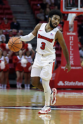 05 November 2017:  Keyshawn Evans during a Lewis College Flyers and Illinois State Redbirds in Redbird Arena, Normal IL