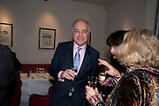 MICHAEL HOWARD, Literary charity First Story fundraising dinner. Cafe Anglais. London. 10 May 2010. *** Local Caption *** -DO NOT ARCHIVE-© Copyright Photograph by Dafydd Jones. 248 Clapham Rd. London SW9 0PZ. Tel 0207 820 0771. www.dafjones.com.<br /> MICHAEL HOWARD, Literary charity First Story fundraising dinner. Cafe Anglais. London. 10 May 2010.