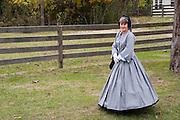 Arkansas, AR, USA, Old Washington State Park, Civil War Weekend, Southern folk