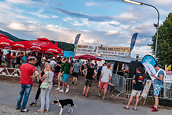 08.07.2017, Red Bull Ring, Spielberg, AUT, FIA, Formel 1, Grosser Preis von Österreich, Qualifying, im Bild Campingplatz, Bars // Campsite Bars After the Qualifying of the Austrian FIA Formula One Grand Prix at the Red Bull Ring in Spielberg, Austria on 2017/07/08. EXPA Pictures © 2017, PhotoCredit: EXPA/ JFK