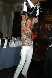 INDIA HICKS at the Tatler Summer Party in association with Moschino at Home House, 20 Portman Square, London W1 on 29th June 2005.<br /><br />NON EXCLUSIVE - WORLD RIGHTS